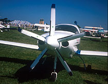 Lancair IV with MT-Propeller