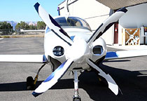 Lancair IV P with MT-Propeller