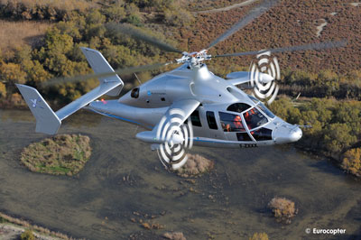Eurocopter X3 with MT-Propeller