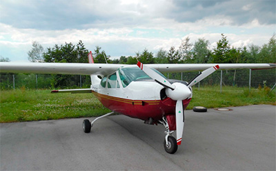 Cessna 177 with 3-blade MTV-9