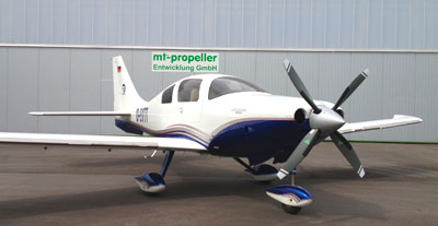 Cessna 400 with 4-blade MTV-14