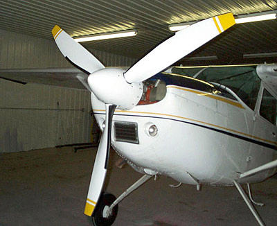 Cessna A185E,-F with MTV-9 Propeller