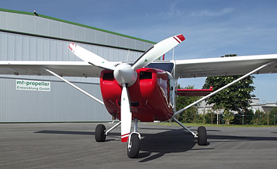 GA8-TC320 Airvan with 3-blade MTV-9