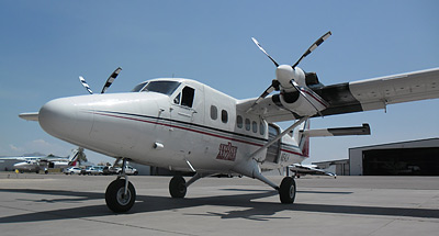 Viking DHC-6 Twin Otter with 4-blade MTV-16